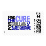 Find The Cure Guillain Barre Syndrome Stamp