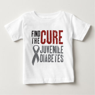 Find the Cure Juvenile Diabetes Baby T-Shirt