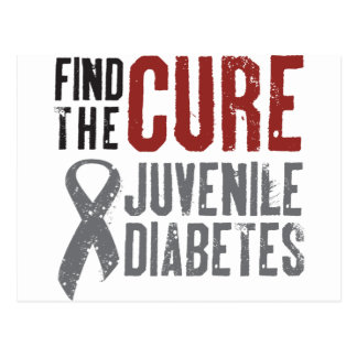 Find the Cure Juvenile Diabetes Postcard
