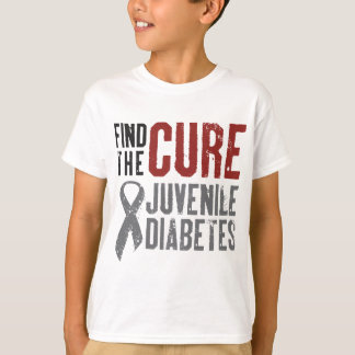 Find the Cure Juvenile Diabetes T-Shirt