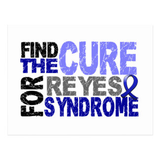 Find The Cure Reye's Syndrome Postcard