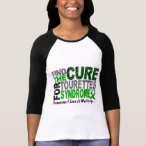 Find The Cure Tourette's Syndrome T-Shirt
