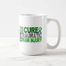 Find The Cure Traumatic Brain Injury TBI Coffee Mug