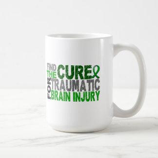 Find The Cure Traumatic Brain Injury TBI Coffee Mug