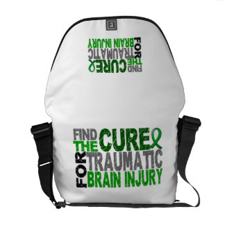 Find The Cure Traumatic Brain Injury TBI Courier Bags