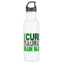Find The Cure Traumatic Brain Injury TBI Stainless Steel Water Bottle