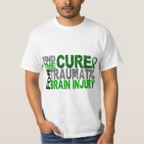 Find The Cure Traumatic Brain Injury TBI T-Shirt