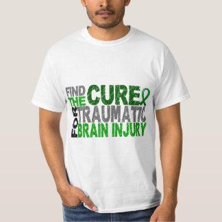 Find The Cure Traumatic Brain Injury TBI Tee Shirt