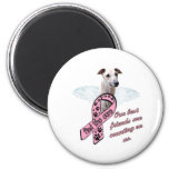 Find the Cure ~ Wings Fridge Magnet