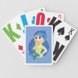 Playing Cards with Inside Out's Joy design