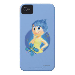 Case-Mate iPhone 4 Barely There Universal Case with Inside Out's Joy design
