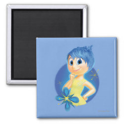 Inside Out's Joy Square Magnet