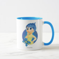 Combo Mug with Inside Out's Joy design