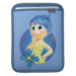 iPad Sleeve with Inside Out's Joy design