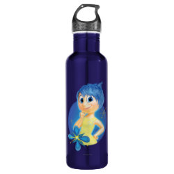 Water Bottle (24 oz) with Inside Out's Joy design