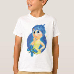 Kids' Hanes TAGLESS® T-Shirt with Inside Out's Joy design
