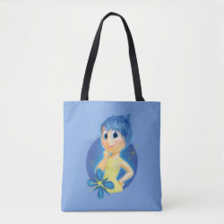 All-Over-Print Tote Bag, Medium with Inside Out's Joy design