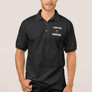 Find This Amoosing Moose Polo Shirt