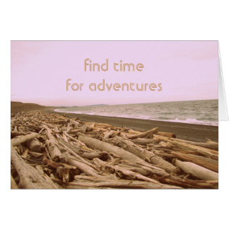 Find Time For Adventures Card