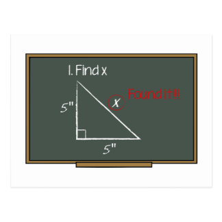 Find X Postcard