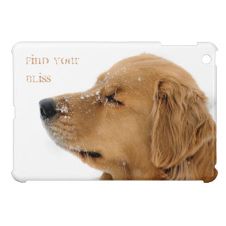 Find Your Bliss Golden Retriever Cover For The iPad Mini
