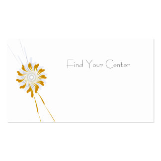 Find Your Center Appointment Card
