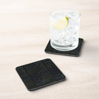 Find Your Happy Drink Coaster