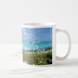 Find Your Happy Place Bahama Beach Mug