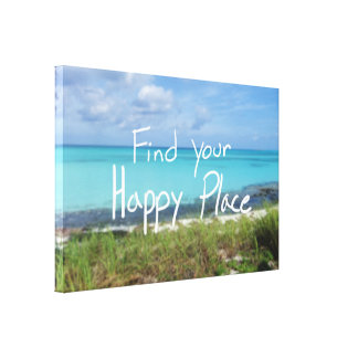 Find Your Happy Place Canvas Print
