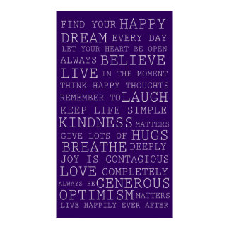 Find Your Happy Poster