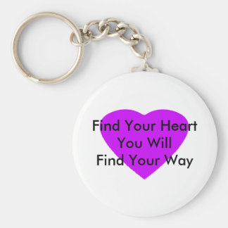 Find Your Heart You Will Find Your Way The MUSEUM Key Chain