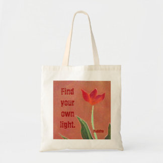 find your own light canvas bag