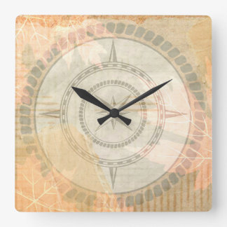 Find Your Path Square Wall Clock