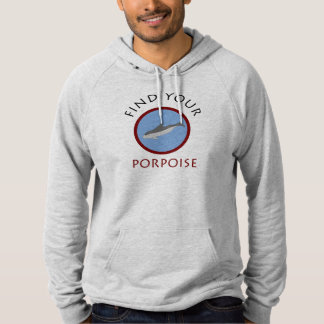 'Find Your Porpoise' Men's Hoodie