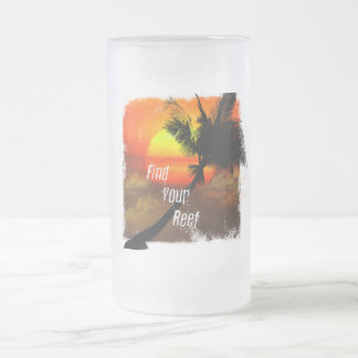 Find Your Reef Frosted Mug