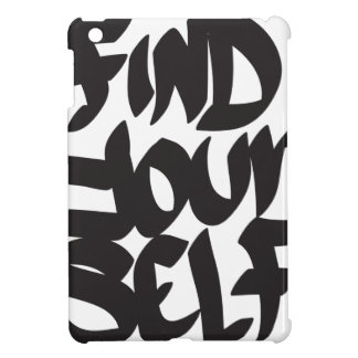 find your self cover for the iPad mini