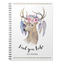 Find Your Tribe - Watercolor Notebook
