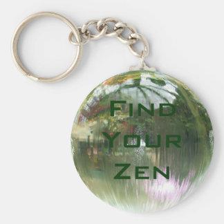 Find Your Zen keychain