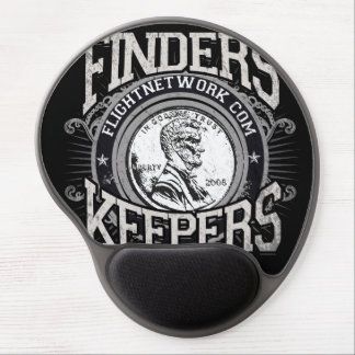 Finders Keepers Mouse Pad Gel Mouse Mat