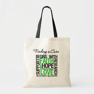 Finding a Cure Begins With Hope Spinal Cord Injury Canvas Bag