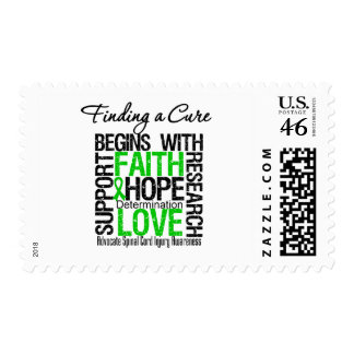 Finding a Cure Begins With Hope Spinal Cord Injury Postage Stamp