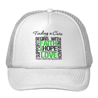 Finding a Cure Begins With Hope TBI Trucker Hat