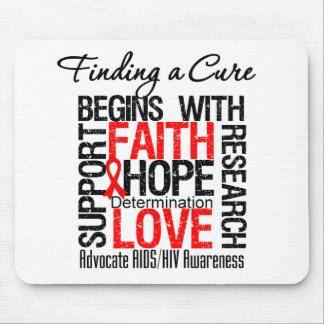 Finding a Cure For AIDS HIV Mouse Pad