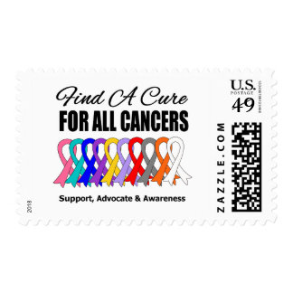 Finding a Cure For All Cancers Stamp