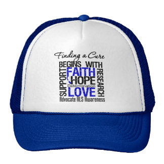 Finding a Cure For ALS Awareness v1 Trucker Hat