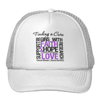 Finding a Cure For Alzheimers Disease Hats