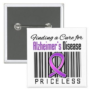 Finding a Cure For Alzheimers Disease PRICELESS Pins
