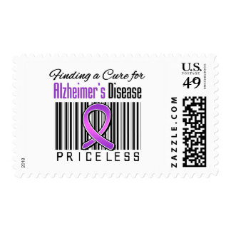 Finding a Cure For Alzheimers Disease PRICELESS Stamp