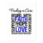 Finding a Cure For Autism Postcard
