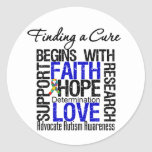 Finding a Cure For Autism Sticker
